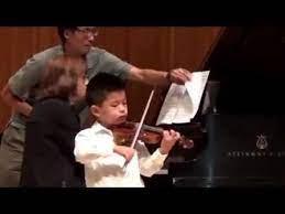 Vivaldi Concerto In A Minor 3rd Movement Suzuki Violin School Volume 4 Solo Recital At The American Suzuki Institute He Played Vivaldi Violinists Recital