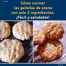 Superb Cómo Cocinar Las Galletas De Avena Con Solo 2 Ingredientes. ¡Fácil Y  Saludable!