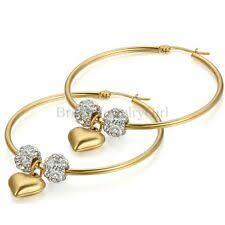 <b>Love</b> & <b>Hearts</b> Hoop Fashion Earrings for sale | eBay