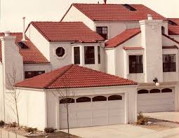 s type style concrete tile roof