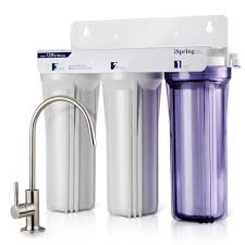 Ispring 3 Stage Under Sink High Capacity Tankless Drinking Water