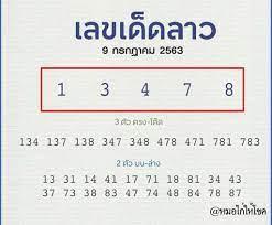 แนวทางหวยลาววันนี้ เลขเด็ดจากเซียนหวย งวดวันพฤหัสบดี 9 ก.ค. 63