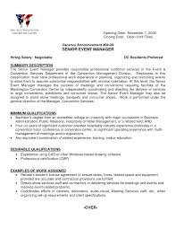 Sample Special Events Coordinator Resume Resume Special Events Coordinator Resume 16