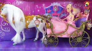 <b>Карета с лошадью</b> для Золушки / Carriage with horses for Cinderella