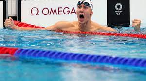 swim team shines with 6 medals, 1st US gold