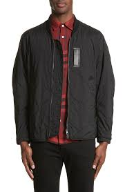 Designer Jackets for Men: Coats, Trenches, Down Vests | Nordstrom & Burberry Marshall Quilted Tech Bomber Jacket Adamdwight.com