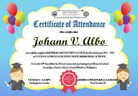 Free Printable Perfect Attendance Certificate Template Fascinating Certificate Of Attendance Templates Editable DepEd LP's DepEd