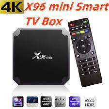 IPTV kutusu X96 mini akıllı tv kutusu Android TV kutusu İspanya alman  portekiz İngiltere arapça hollandalı İsveç X96mini Set Top Box sadece hayır  kanal Set-top Boxes