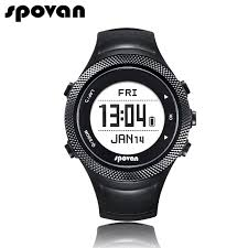 mens watch ratings promotion shop for promotional mens watch spovan smart sports watches for men watch women chargable gps bluetooth 4 0 app waterproof heart rate belt gl006