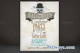 Halloween Costume Party Flyer 11138 Free Download