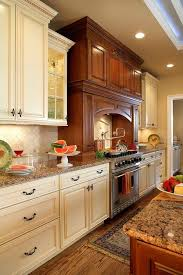 antique white kitchen ideas. Antique White Kitchen Cabinets Baltic Brown Granite Countertops Hardwood Flooring Ideas B
