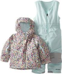 Columbia Toddler Snowsuit Bib And Jacket Size 2t