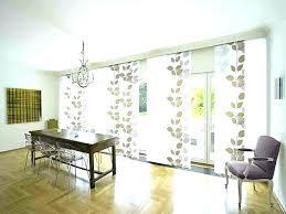 patio door window panels treatment curtain ideas astonishing design sliding curtains french