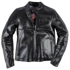 dainese toga72 leather jacket black front