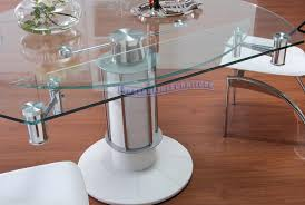 great extendable glass dining table  in home improvement ideas