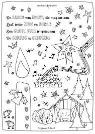 063 Kleurplaten Bijbel Versjes Kerst Kerst Kaarsen En Kerst