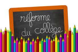 """Résultat de recherche d'images pour """"images pour réforme du collège"""""""