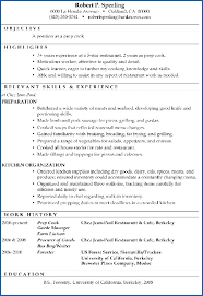 Cook Resume Sample From 50 Fantastic Prep Cook Resume Sample Free