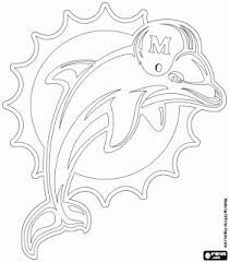 After having fun and interesting time coloring pages of horses, cows, and other farm animals, today we bring you another exciting collection of free printable dolphin coloring pages. Pin By Becky Hergenrother On Sports Coloring Pages Dolphins Logo Nfl Logo