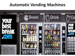 Automatic Vending Machine In India Impressive Indian Retail Market And Upcoming Challenges