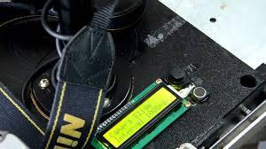slider motor and intervallometer arduino for nikon dslr diy