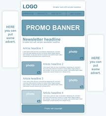 creating a personalized newsletter template  how to create a newsletter template