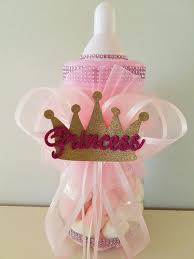 Embellished Crowns For A Royal Affair  BlogPrincess Theme Baby Shower Centerpieces