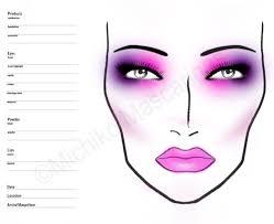 makeup template