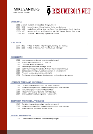 Remarkable Design New Resume Format 2017 New Resume Format 2017 What