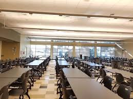 high school cafeteria. Cafeteria High School