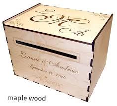 wedding card box mercury glass post diy wood