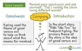 Argumentative Essay Write A Conclusion For An Argumentative Essay Learnzillion