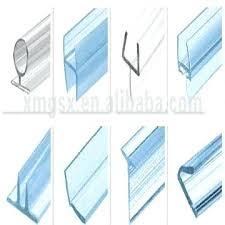 precious glass shower door seal strip china new whole heat resistance glass shower door seal good