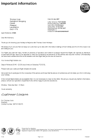 Sample Invoice Letters Sample Gallery Detail Thomas Cook Errata Letter Pitney Bowes