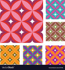 Vintage Wallpaper Patterns Enchanting Vintage Wallpaper Patterns Royalty Free Vector Image