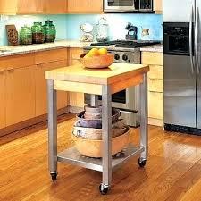 Portable Kitchen Islands On Wheels Small Portable Kitchen Island