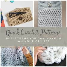Quick And Easy Crochet Patterns Interesting Easy Crochet Patterns Free Crochet Patterns On Daisy Cottage Designs