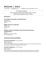 How To Format Education On Resume Resume Education Format