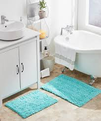 love this product blue mekong two piece bath rug set