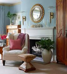 decorate fireplace mantel mirror