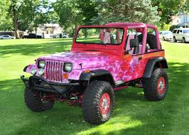 pink customized jeep wranglers. Plain Wranglers Clic Car Auctions 2010 Jeep Wrangler Unlimited Auto Custom Wheels Pink  Accent Purchase With Customized Wranglers G