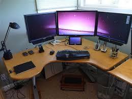 unique diy computer desk design simple diy corner computer desk design ...