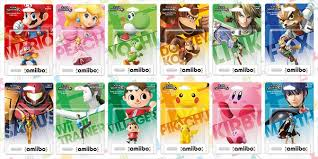 Amiibo Compatibility Chart Amiibo Compatibility Chart Sighted Which Figures Work In