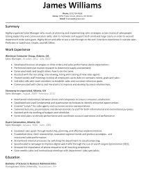 Sales Manager Resume Sample Resumelift Com