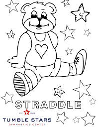36 printable gymnastics coloring pages, get this printable hello kitty gymnastics coloring page Tumble Stars Gymnastics Center Today We Have A Fun Coloring Page For All Of Our Class Kiddos Can You Practice Your Straddle Position At Home Can You Do A Straddle Sitting