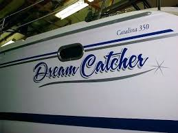 Dream Catcher Yachts Boat Name Lettering Boat Name Dream Catcher Boat Lettering To You 96