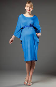 Beautiful Maternity Dresses For Baby Shower  Home Decorating Blue Maternity Dress Baby Shower