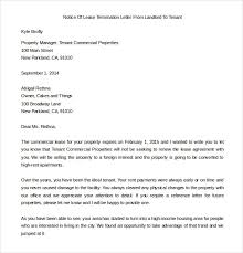 Terminate A Lease Letter 23 Lease Termination Letter Templates Pdf Doc Free