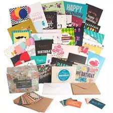 Happy Birthday Cards Bulk Set With 40 Unique Birthday Cards And Envelopes In A Cute Holder Box Generous Size And Sturdy Quality Extra 10 Small