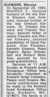 Maurice Klawans - Newspapers.com